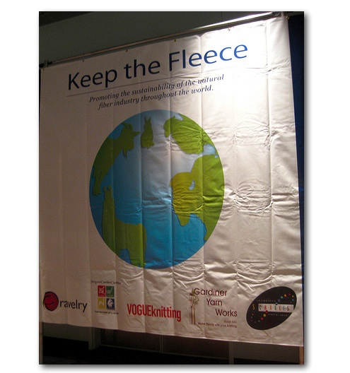 keep the fleece banner
